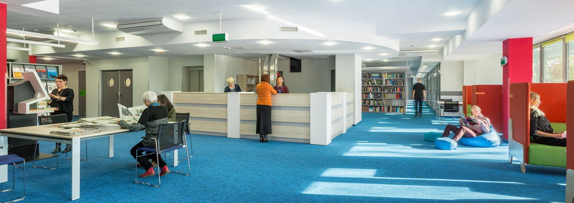 ניקוי שטיחים לספריות ומקומות ציבוריים