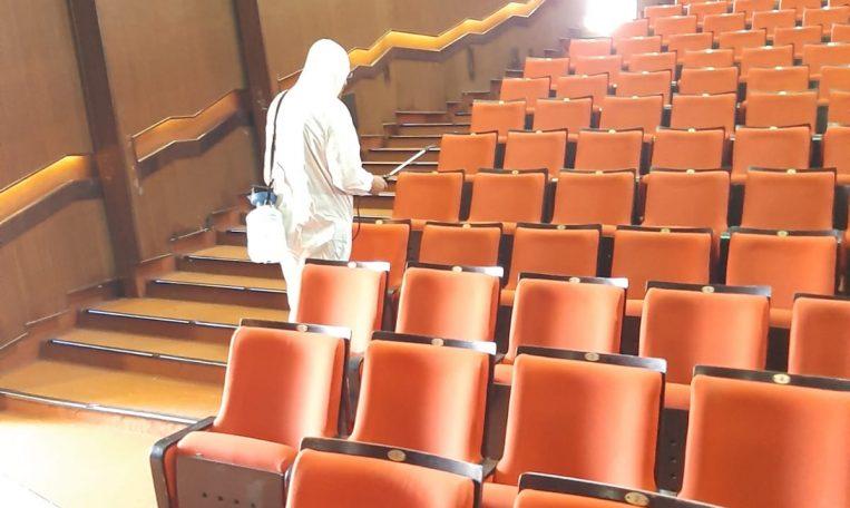 חיטוי קורונה לאולמות ובתי קולנוע - מקצוענים 2000