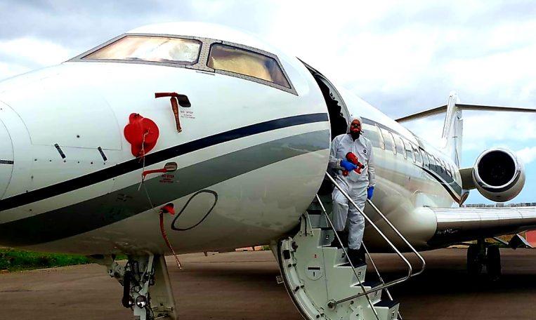 חיטוי קורונה למטוסים - מקצוענים 2000