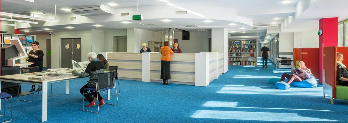 ניקוי שטיחים לספריות