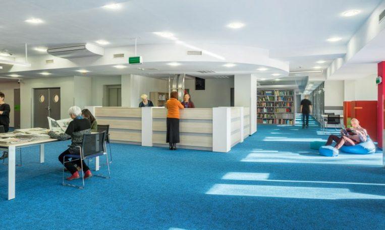 ניקוי שטיחים מקיר לקיר לספריות ומקומות ציבוריים